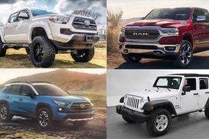 Top 15 mẫu xe bán chạy nhất năm 2018
