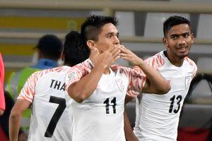 Tiền đạo tuyển Ấn Độ qua mặt Messi về thành tích ghi bàn cho đội tuyển
