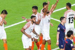 Tuyển Thái Lan bất ngờ thua thảm 1-4 trước Ấn Độ!