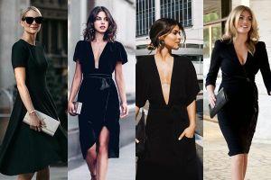 Black Outfit: Trang phục màu đen chưa bao giờ lỗi mốt
