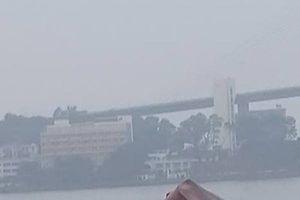 Tàu chở xi măng gãy làm đôi khi va chạm với tàu nước ngoài, thuyền trưởng tử vong
