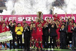 Một năm vàng son của bóng đá Việt Nam