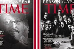 Time vinh danh các phóng viên bị giết và cầm tù là 'Nhân vật của năm' 2018