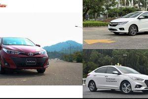 Sedan dưới 600 triệu đồng: Chọn Hyundai Accent, Honda City hay Toyota Vios?