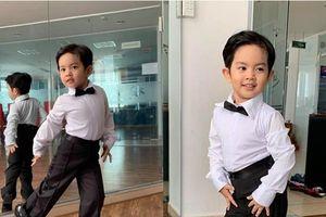 Mới ba tuổi, con trai Khánh Thi đã lên đồ và nhảy chuyên nghiệp như vũ công