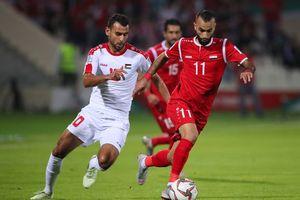 Asian Cup 2019: Thi đấu hơn người, Syria vẫn để Palestine 'cầm chân'
