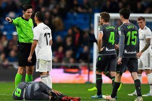 10 chọi 11, Real thất bại đau đớn trước Sociedad