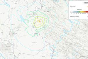 Động đất ở Tây Iran, ít nhất 75 người bị thương