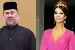 Sau khi cưới người đẹp Nga, Vua Malaysia thoái vị để quay về bang cũ