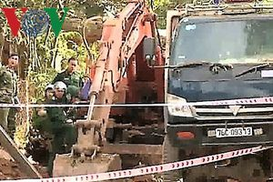 Nổ bom ở Quảng Ngãi khiến 1 người bị thương