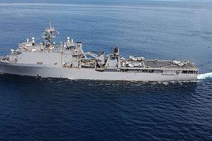 Tàu Pytlivy Nga đang 'bám sát' mọi hành động của tàu chiến Mỹ trên Biển Đen
