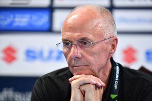 HLV Eriksson khen học trò dù thua trước Hàn Quốc ở Asian Cup