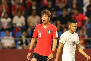 'Thật đáng xấu hổ khi Hàn Quốc không thể ghi bàn trong hiệp một'