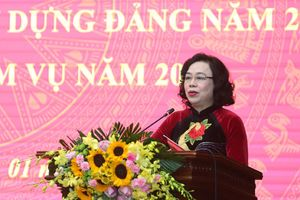 Phó Bí thư Thường trực Thành ủy Hà Nội Ngô Thị Thanh Hằng: Tăng cường vai trò lãnh đạo toàn diện của cấp ủy