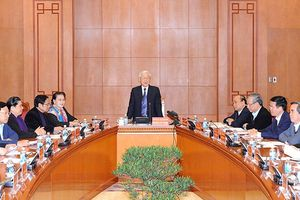 Tổng Bí thư, Chủ tịch nước Nguyễn Phú Trọng chủ trì phiên họp đầu tiên của Tiểu ban Văn kiện Đại hội XIII của Đảng