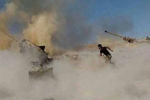Quân đội Syria khai hỏa, khủng bố tổn thất nặng tại Bắc Hama