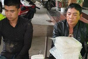 CSGT bắt 2 đối tượng vận chuyển hơn 17.000 viên ma túy tổng hợp