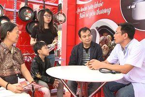 Hàng nghìn gia đình Việt được tư vấn miễn phí để sống khỏe
