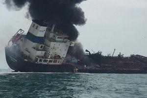 25 thuyền viên Việt Nam có mặt trên tàu cháy tại Hong Kong