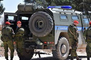 Quân đội Nga ở Syria xuất hiện gần biên giới Thổ Nhĩ Kỳ làm gì?