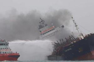 25 thuyền viên Việt Nam có mặt trên tàu dầu cháy ngoài khơi Hong Kong