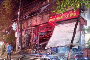 Lào Cai: Cháy lớn gây thiệt hại hơn chục tỷ đồng