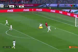 1-0 cho ĐT Việt Nam: Quang Hải, Công Phượng phối hợp, Iraq phản lưới nhà ngớ ngẩn