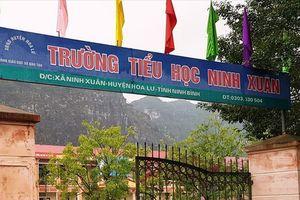 Hiệu trưởng trường Tiểu học Ninh Xuân xác nhận có học sinh bị chó cắn