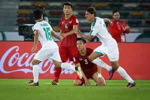 Đội tuyển Việt Nam được thưởng 500 triệu đồng sau trận thua Iraq