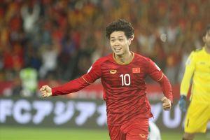 Công Phượng xuất sắc nhất lượt trận thứ 4 Asian Cup 2018