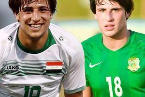 Tiền đạo 18 tuổi Iraq đẹp trai như tài tử vừa chọc thủng lưới Việt Nam