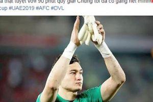 Đặng Văn Lâm nói gì khi để thủng lưới 3 bàn trước Iraq?