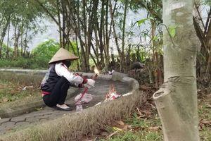 Danh tính thi thể phụ nữ trẻ bán khỏa thân ở vườn hoa Hà Đông