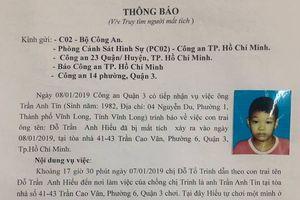 Công an truy tìm bé trai 9 tuổi mất tích bí ẩn giữa trung tâm Sài Gòn