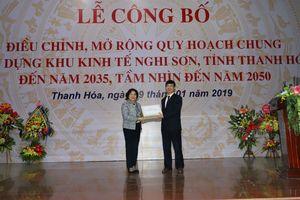 Mở rộng Khu kinh tế Nghi Sơn ra toàn huyện Tĩnh Gia