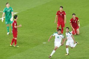 Những điểm đáng bàn về trận thua của Việt Nam trước Iraq