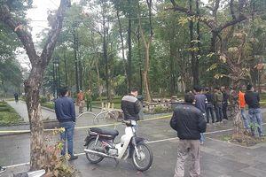 Vụ án mạng ở vườn hoa Hà Đông: Cử lực lượng công an tinh nhuệ tìm hung thủ
