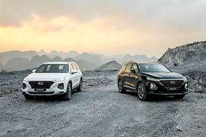 Hyundai SantaFe 2019 có 6 phiên bản, giá từ 995 triệu đồng