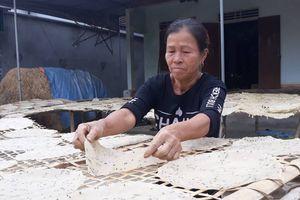 Gần Tết, làng bánh đa sắn sôi động với 'nghề phụ, thu chính'