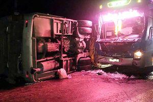 Bình Định: Tai nạn liên hoàn khiến 14 người thương vong