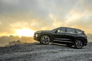 Giá lăn bánh Hyundai Santa Fe 2019 cao nhất hơn 1,4 tỷ đồng