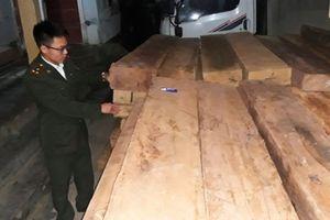 Quảng Bình: Thu giữ hơn 9m3 gỗ không rõ nguồn gốc