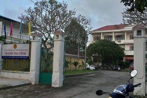 Phó Chánh Thanh tra tỉnh Quảng Nam tử vong trong khuôn viên cơ quan