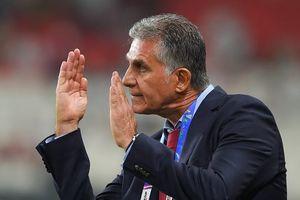 Báo Iran loan tin chia tay HLV Carlos Queiroz ngay sau Asian Cup