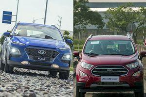 Hyundai Kona - Ford EcoSport: Ganh đua quyết liệt