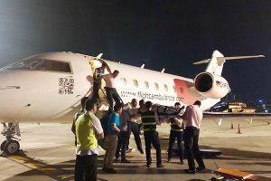 3 khách bị thương ở Ai Cập về nước bằng máy bay chuyên dụng