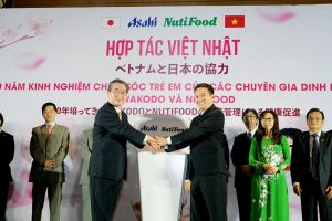 NutiFood bắt tay Asahi lập liên doanh trong ngành sữa