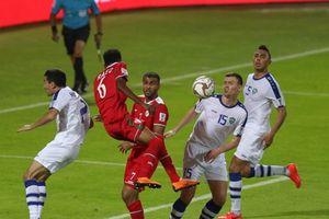 Uzbekistan nhọc nhằn đánh bại Oman 2 - 1