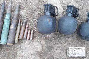 Hành hung cán bộ lâm trường, khám nhà ra lựu đạn