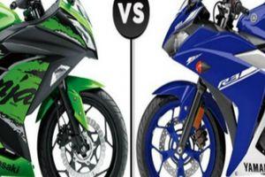 Thích môtô, chọn ngay Kawasaki Ninja 300 hay Yamaha R3?